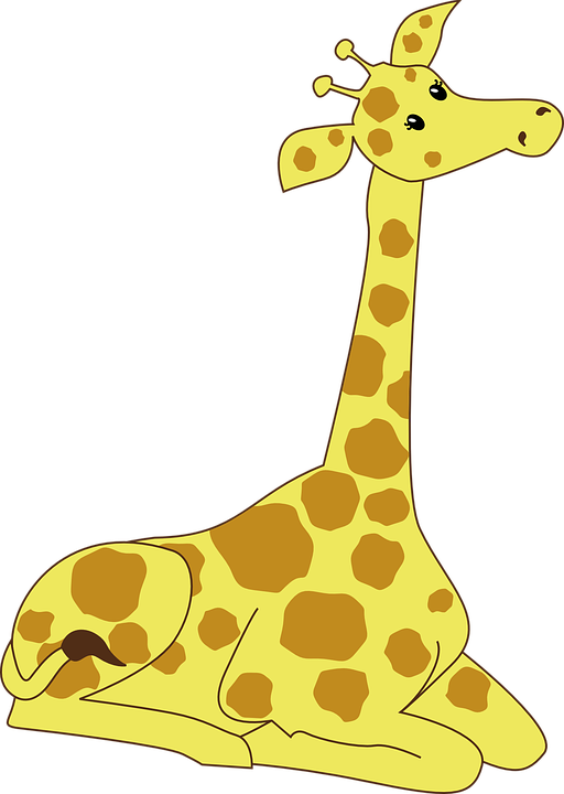 Free photos and pictures. Clipart giraffe swimming