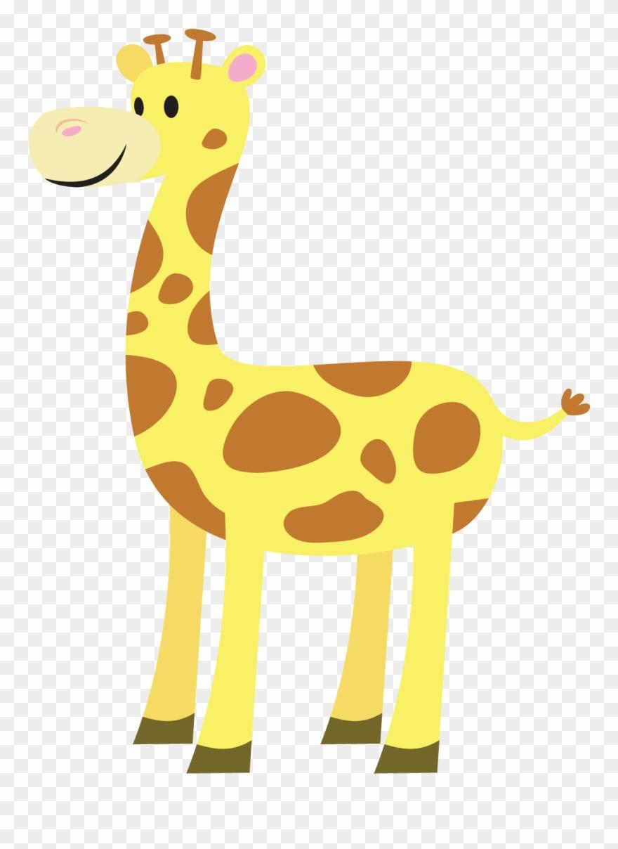 Clipart giraffe swimming. Cute free clip art