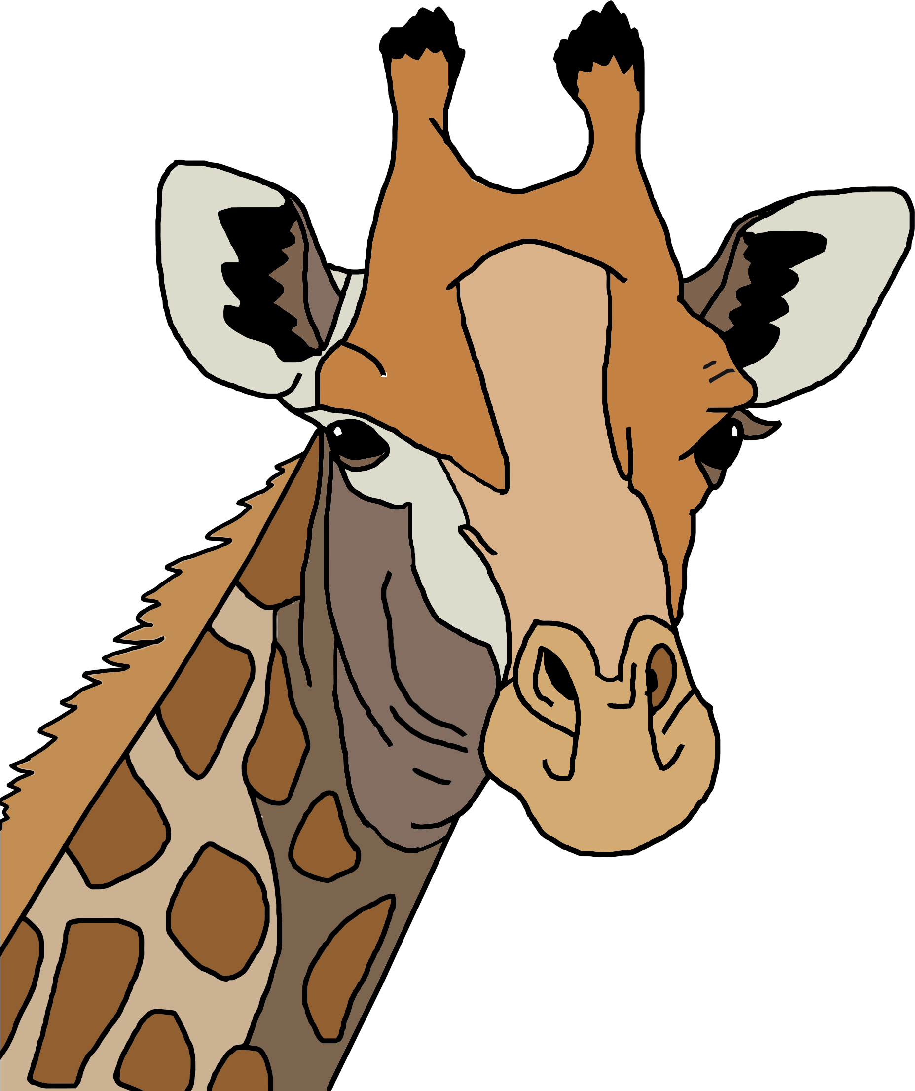 Clipart giraffe swimming. Colored icons png free