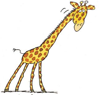 Panda free images . Giraffe clipart tall giraffe