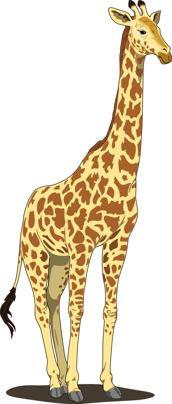 Artfavor scalable vector graphics. Tree clipart giraffe