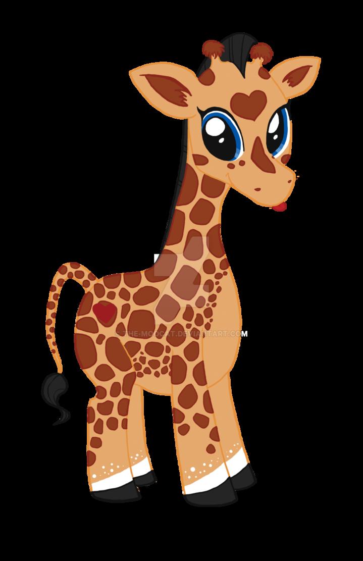 Giraffe clipart walker. The moocat deviantart jeff