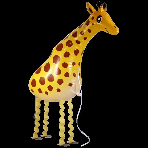 Folienballon walking pet cm. Giraffe clipart walker
