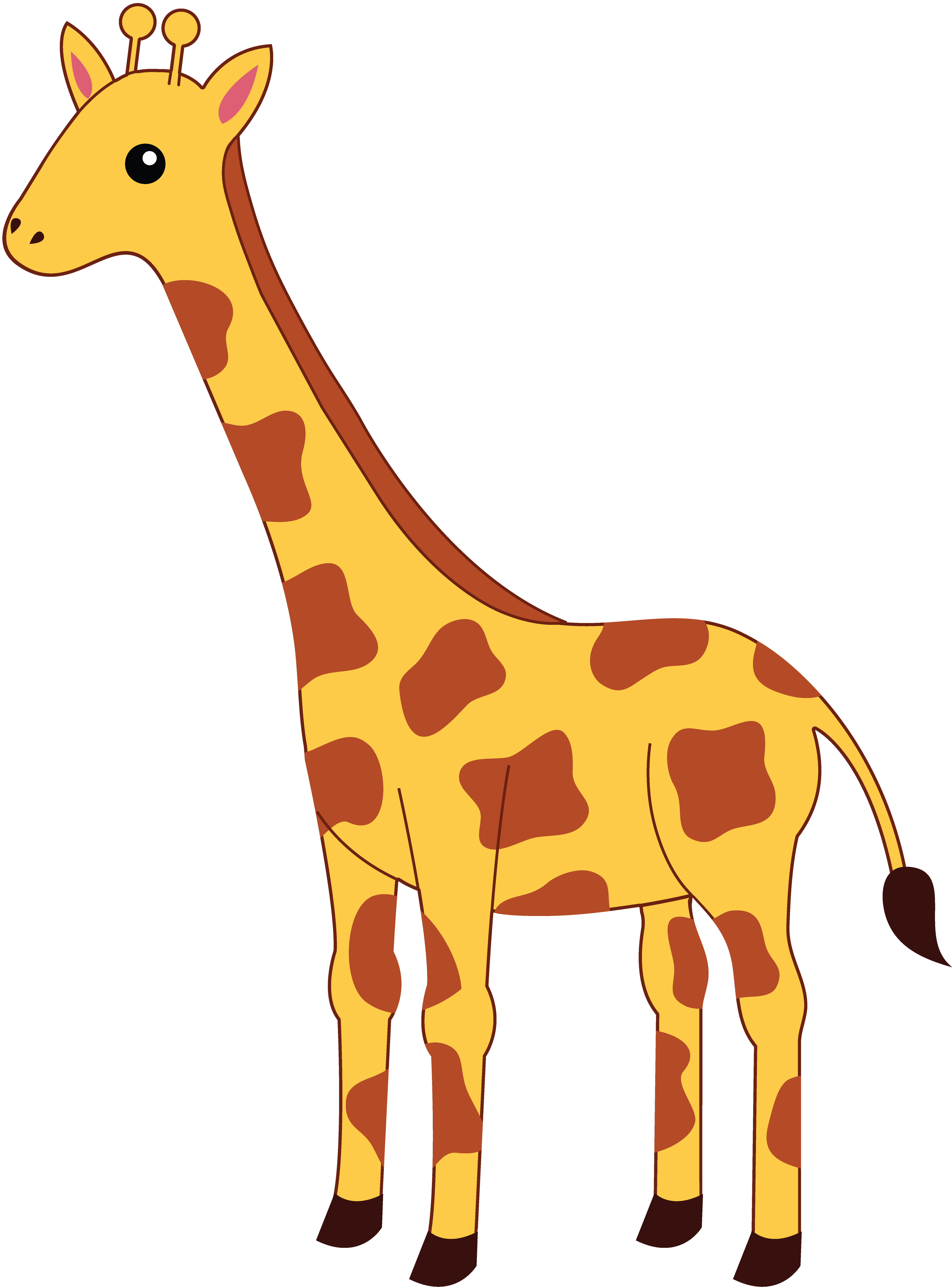 Top free image . Giraffe clipart