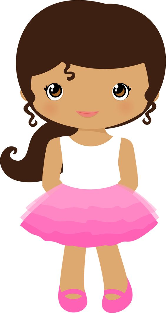 Clip art image library. Girl clipart