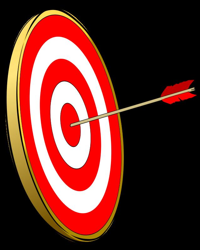 Focus clipart board target. Accuracy clip art panda