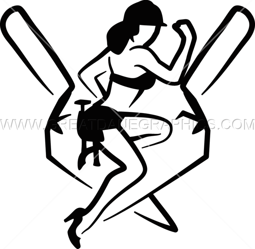 Female clipart pole vault. Pin up girl silhouette