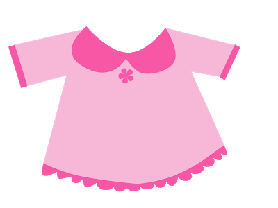 Dress clipart cloth. Cute shirt clip art