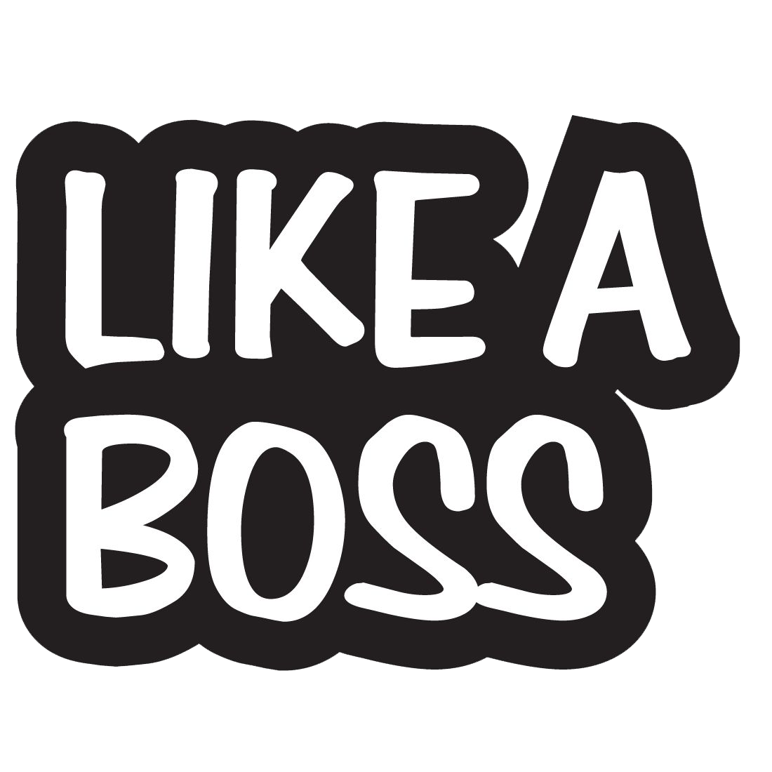 Png black and white. Clipart girl boss