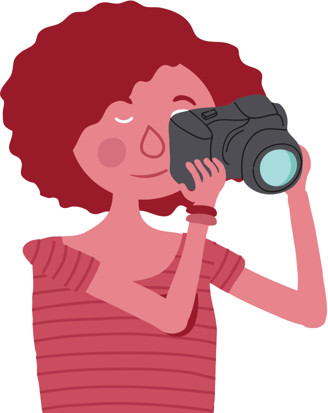 Clipart girl camera. The purpose project overview