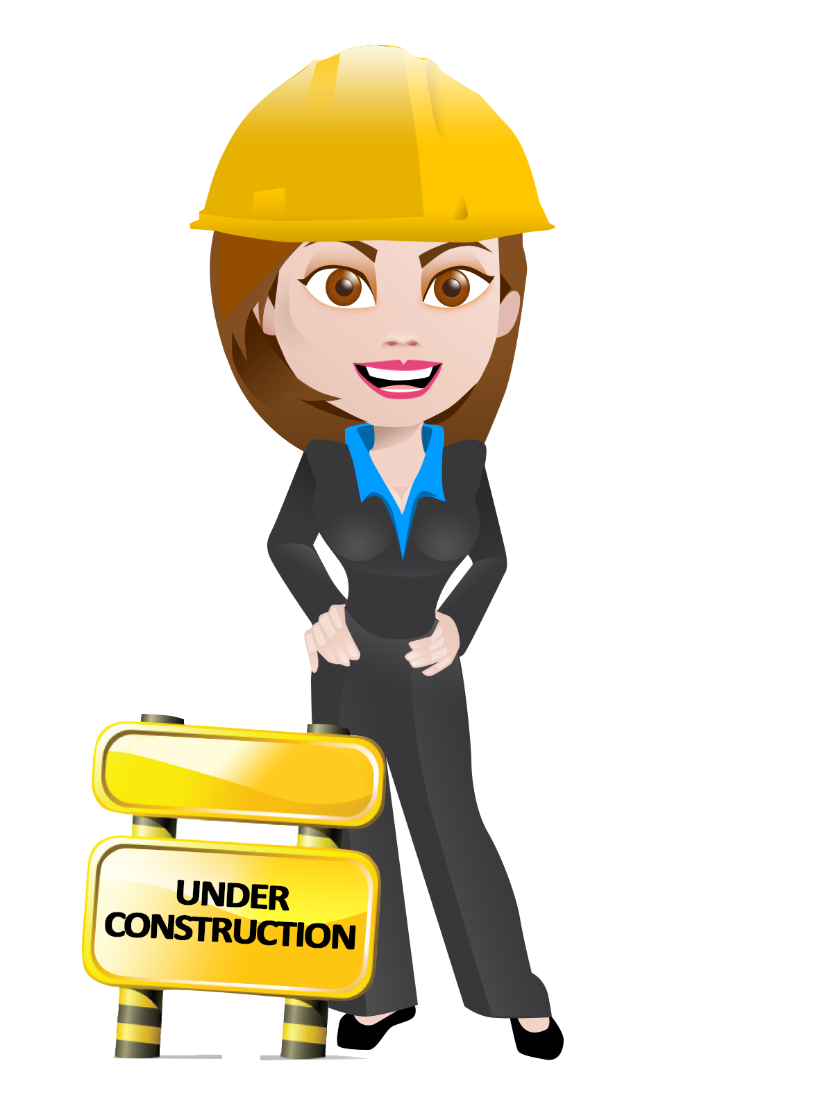 Lady clipart construction. Free women cliparts download