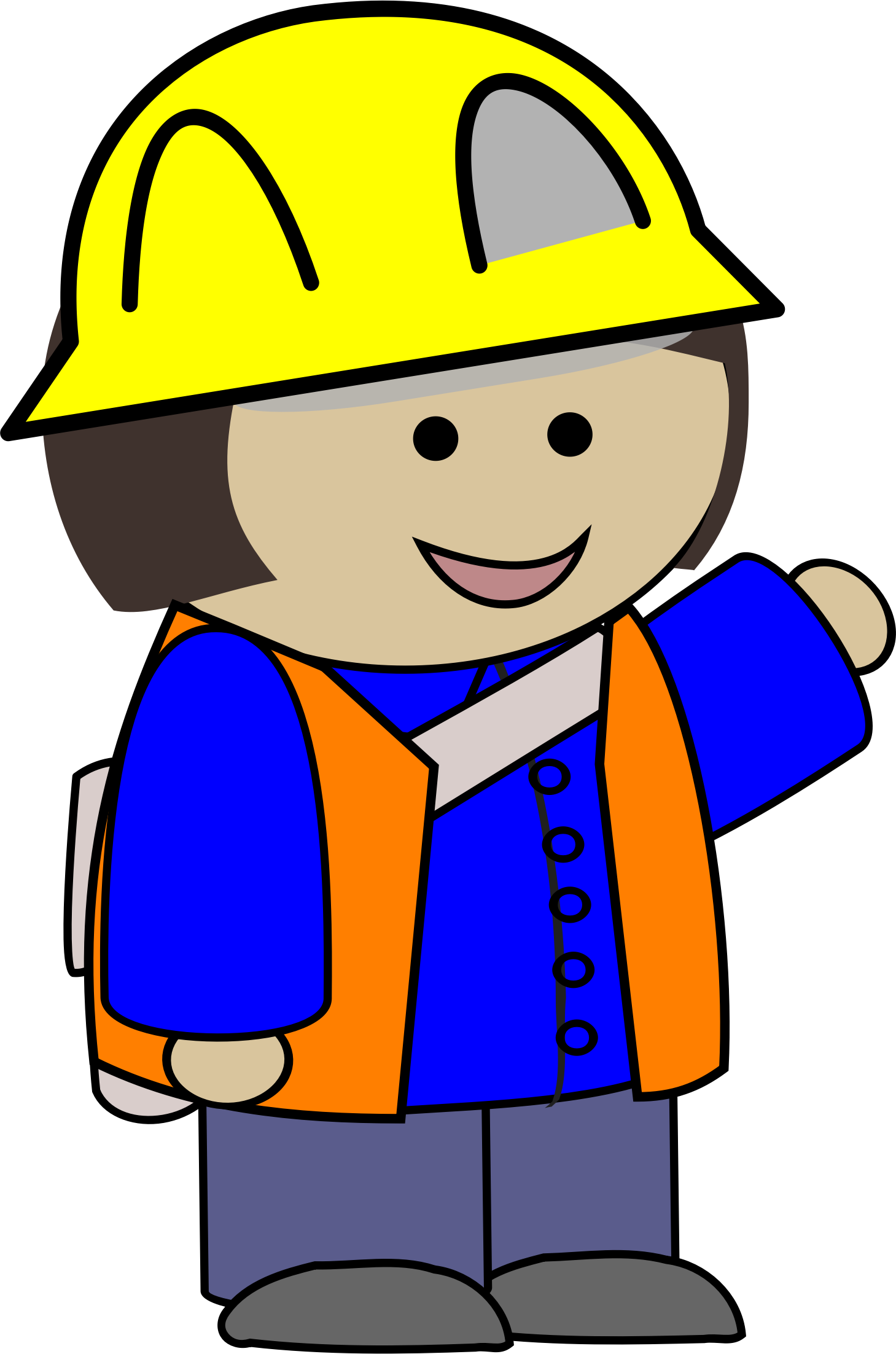 Working clipart construction. Kid big image png