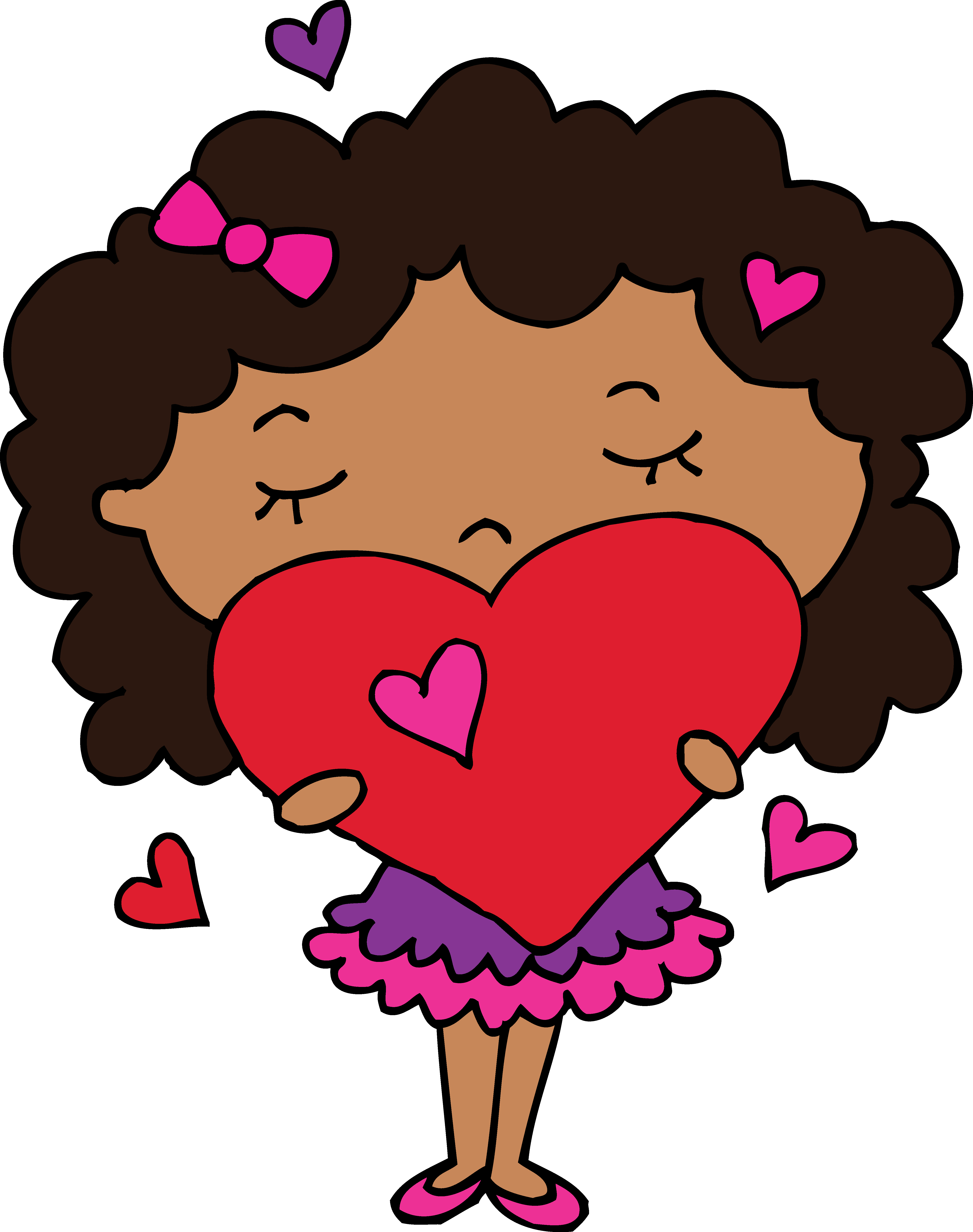 Hearts clipart science.  collection of curly