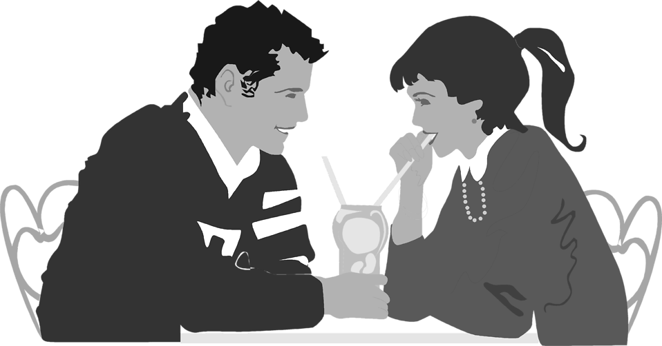 Young clipart dating couple. Dinner free stock photo