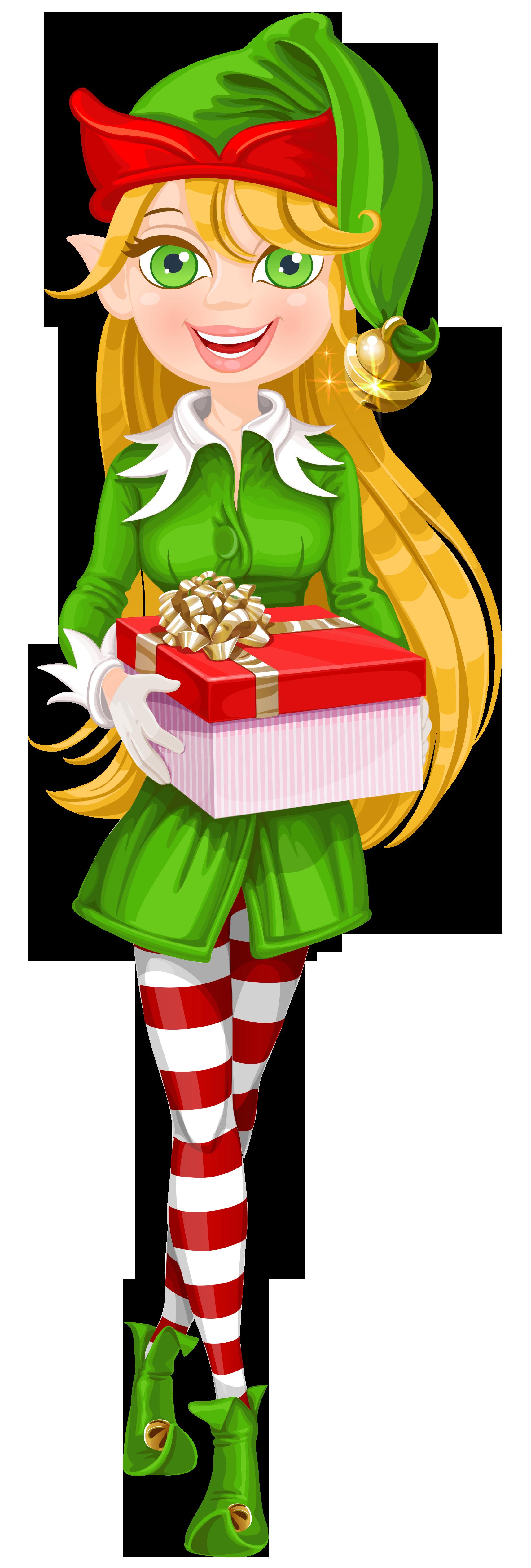Elf png images elves. Santa clipart sleeping