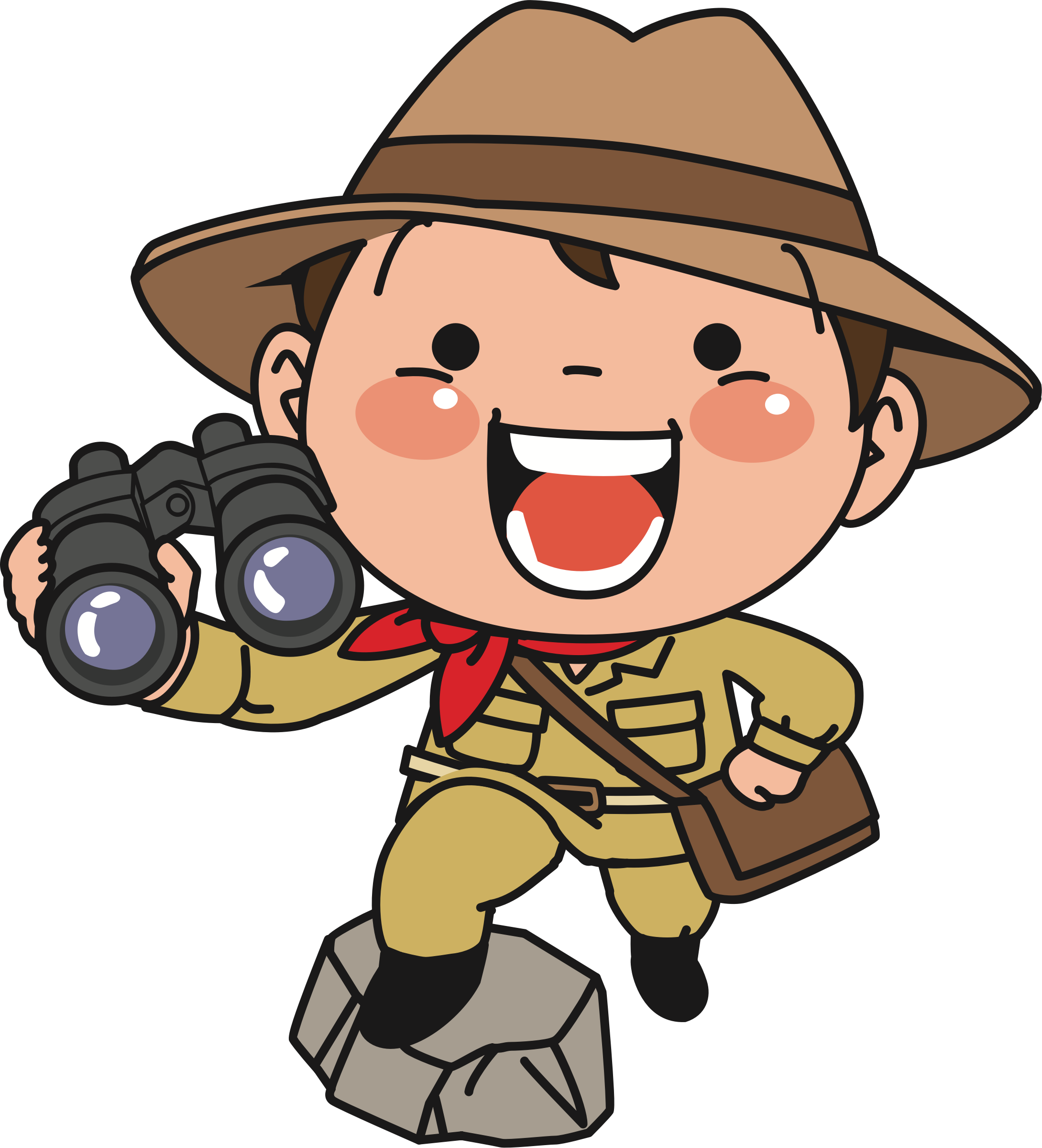 collection of high. Explorer clipart binocular