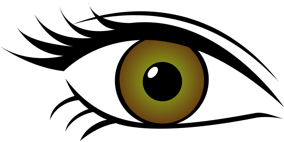 Green eyes horse free. Eyeballs clipart eye ball