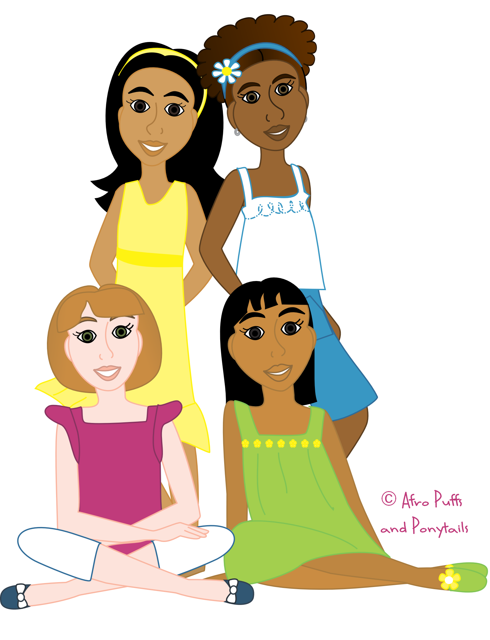 Programs for girls in. Leader clipart role model