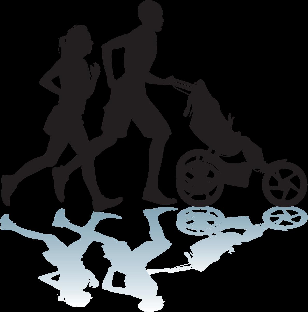 Clipart girl fitness. Exercise silhouette clip art