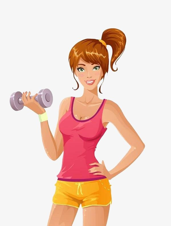 Exercising clipart girl exercise. Millions of png images