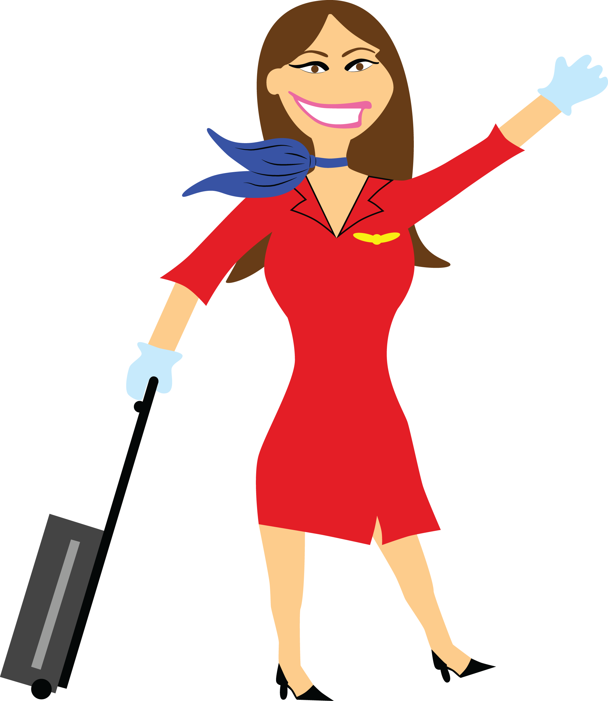 Png transparent images all. Girl clipart flight attendant