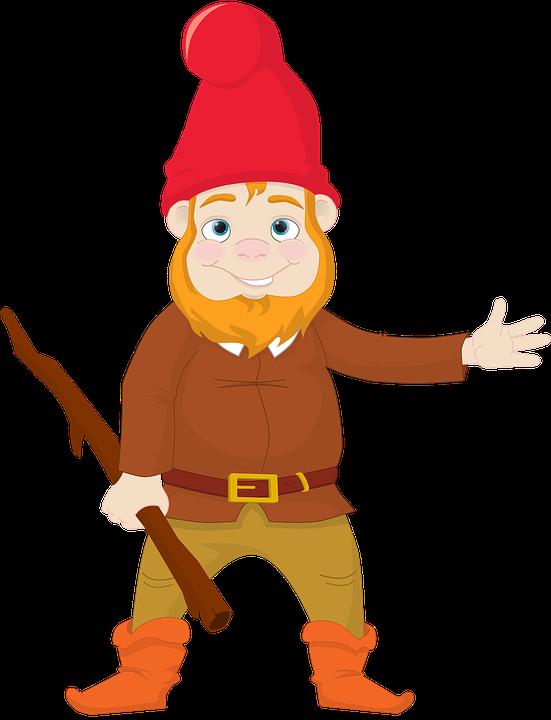 gnome clipart friendly