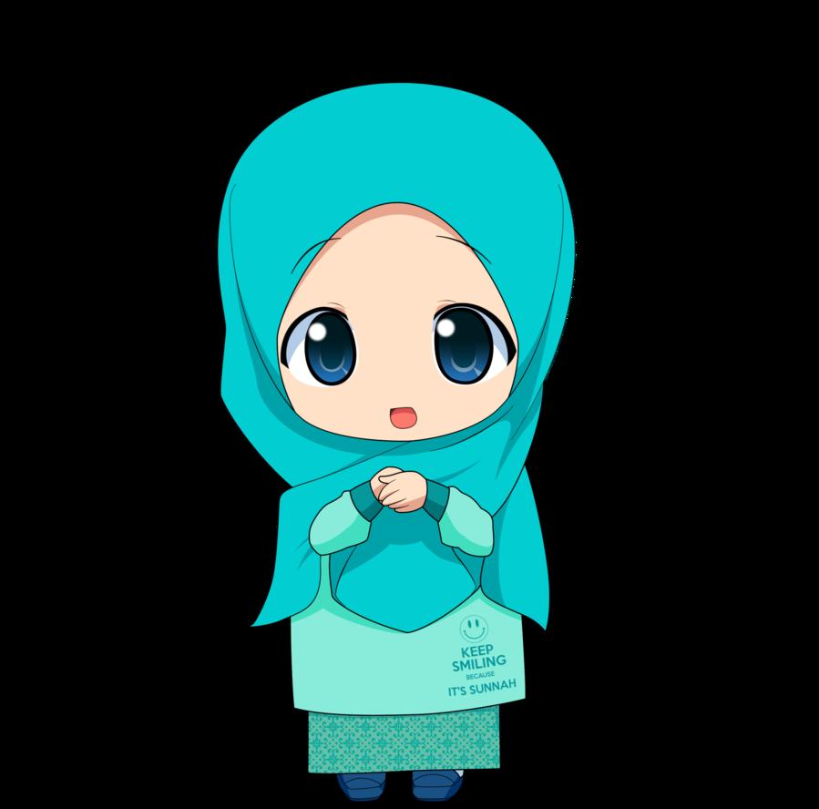 Chibi muslimah by taj. Goals clipart gambar