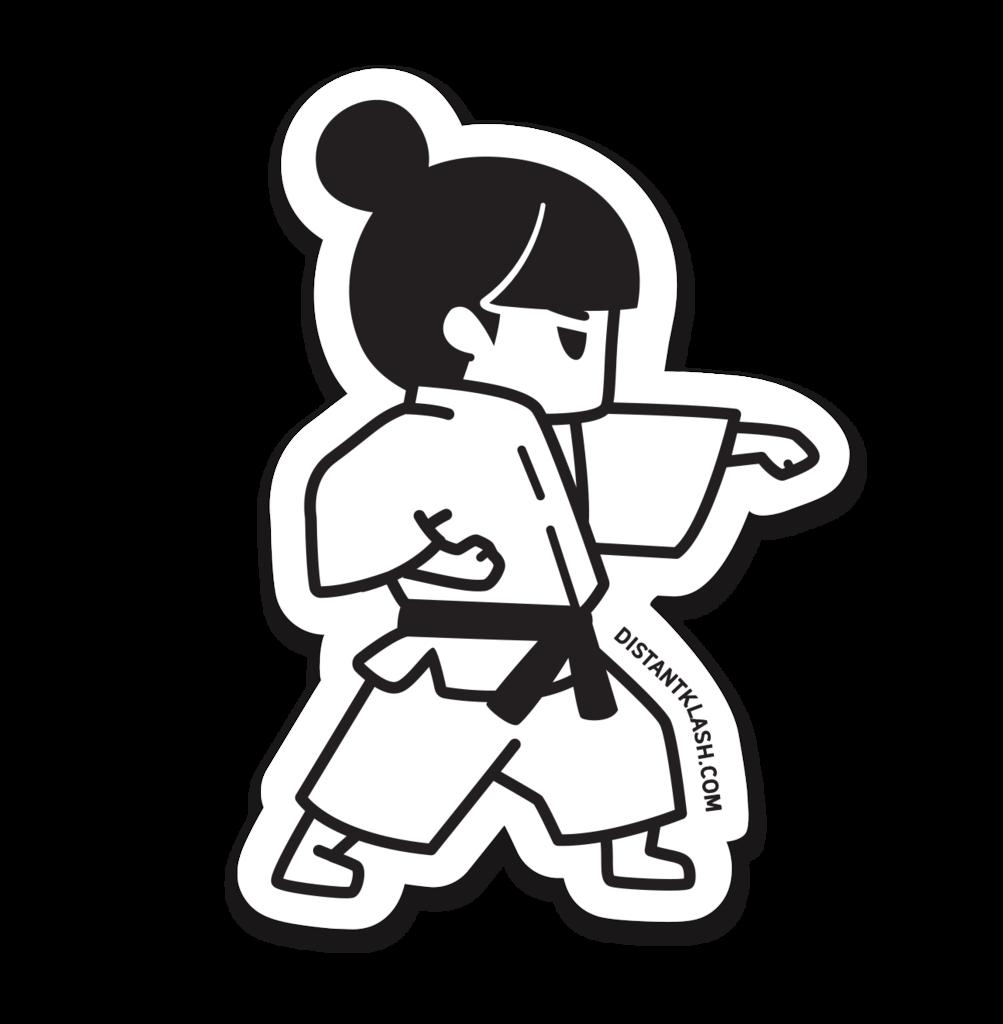 Hand clipart karate. Drawing at getdrawings com