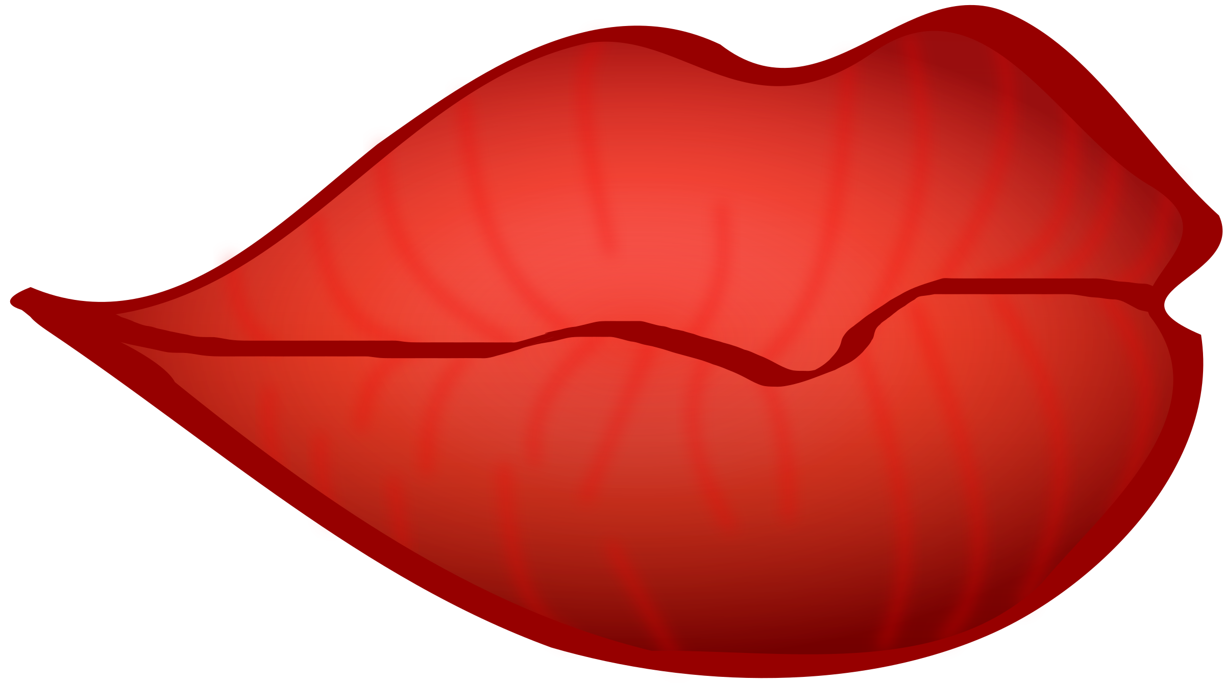 Kissing lips at getdrawings. Clipart mustache lipstick