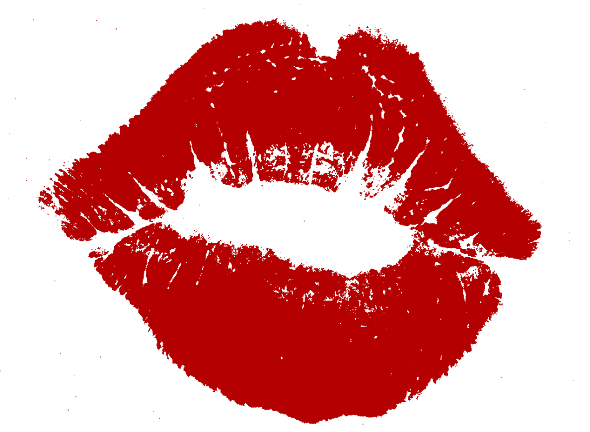 Kiss clipart father indian. Lips png image l