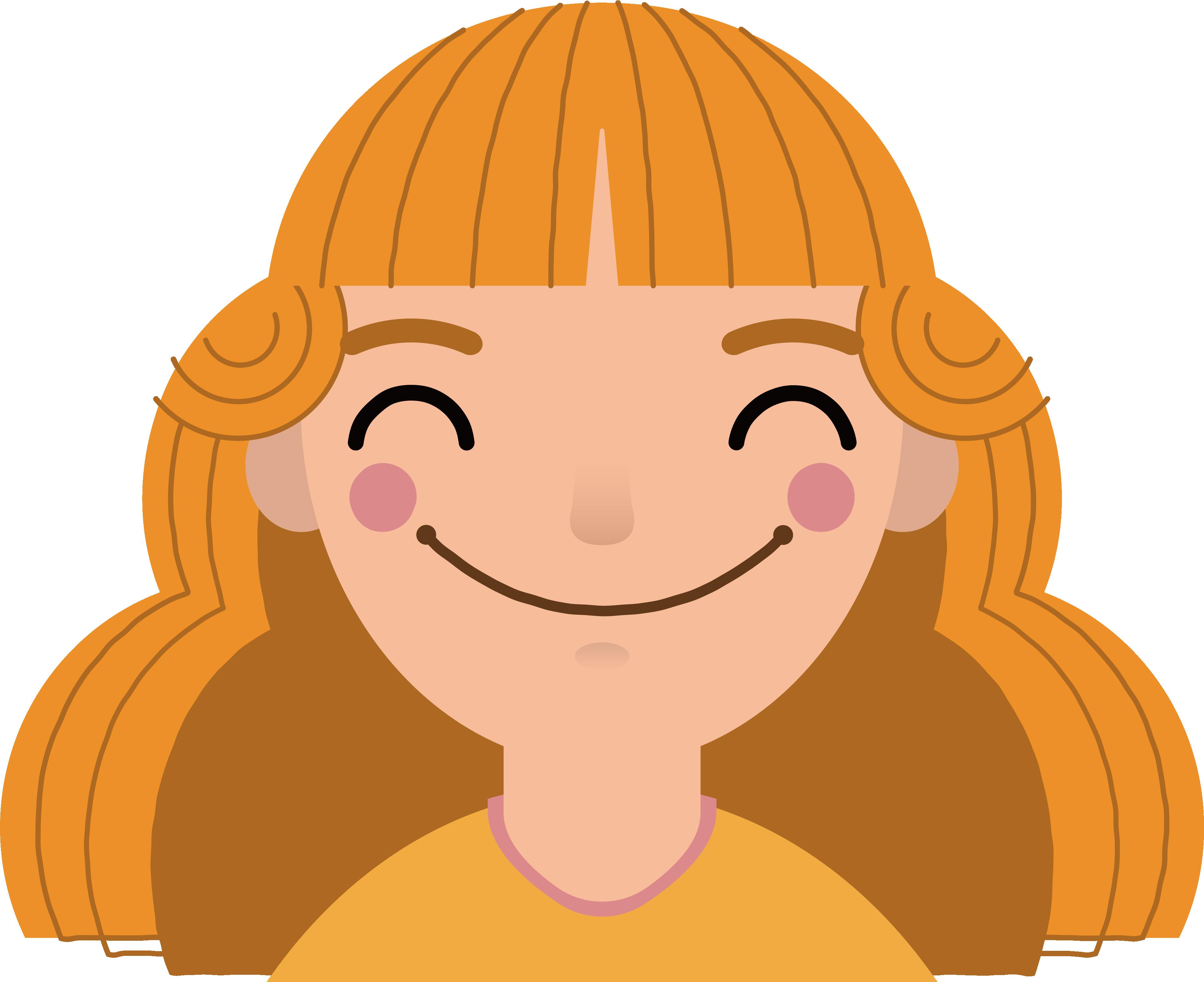 Smile clip art a. Gum clipart hair clipart