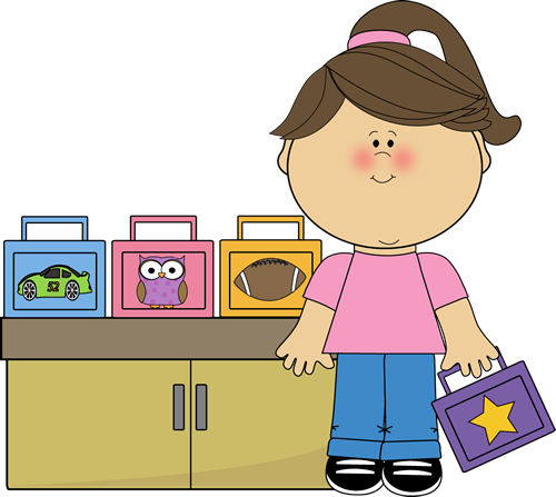 Lunchbox clipart lunch monitor. Girl box clip art