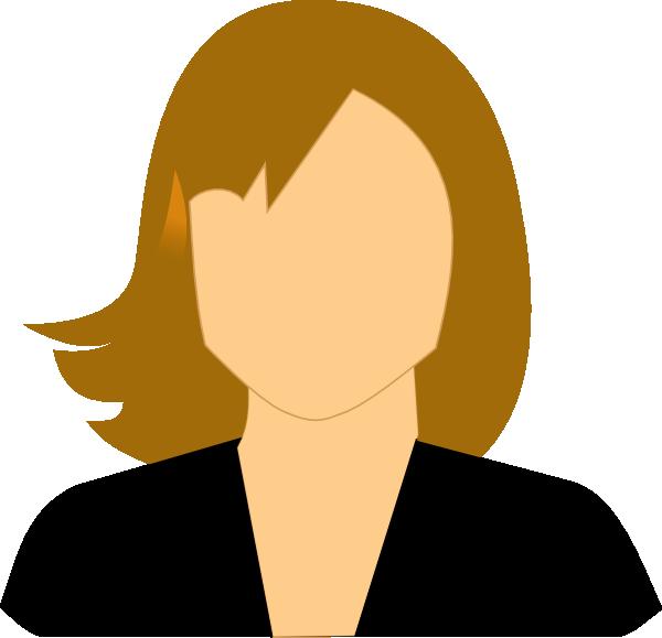 Clipart teacher face. Female clip art at