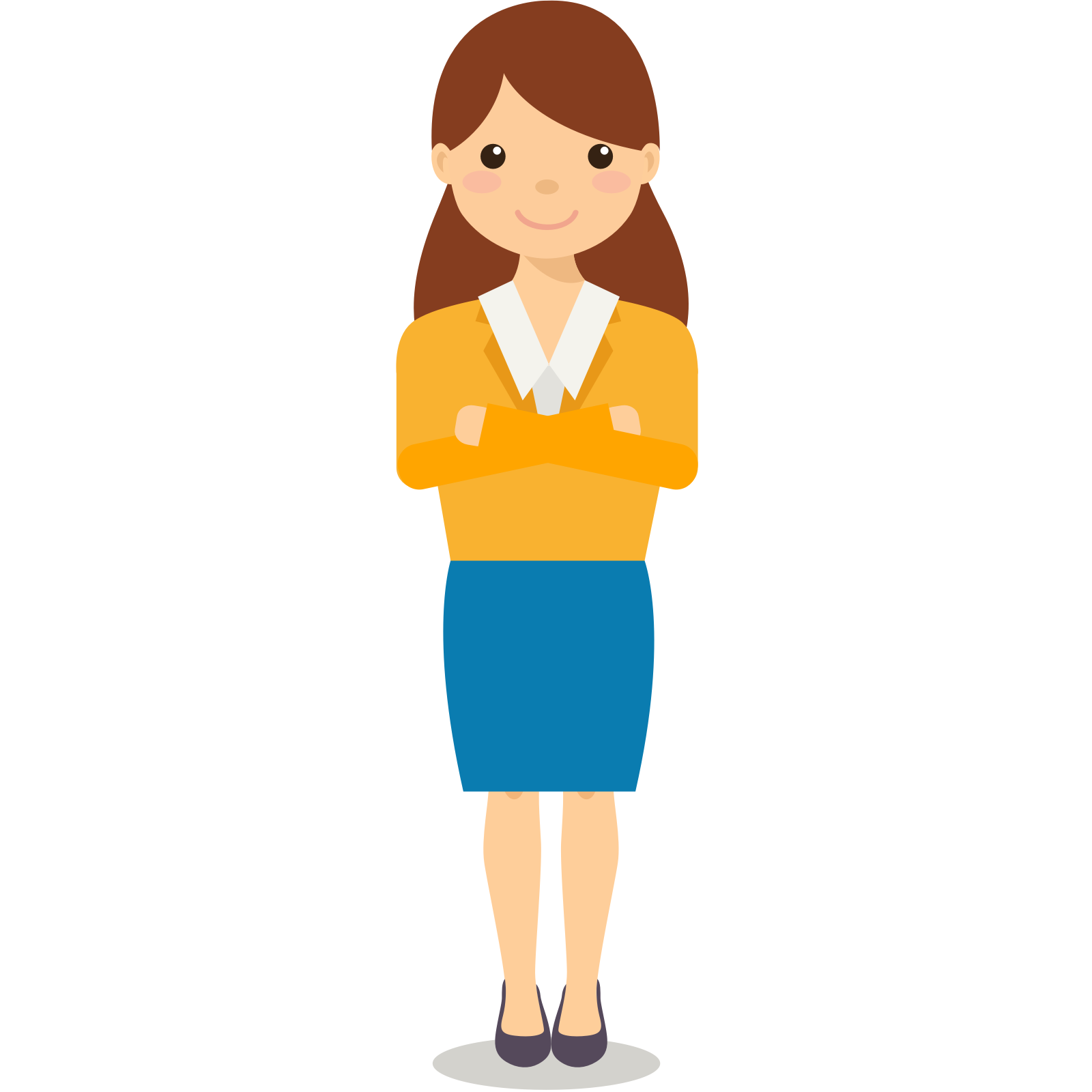 collection of transparent. Manager clipart female manager