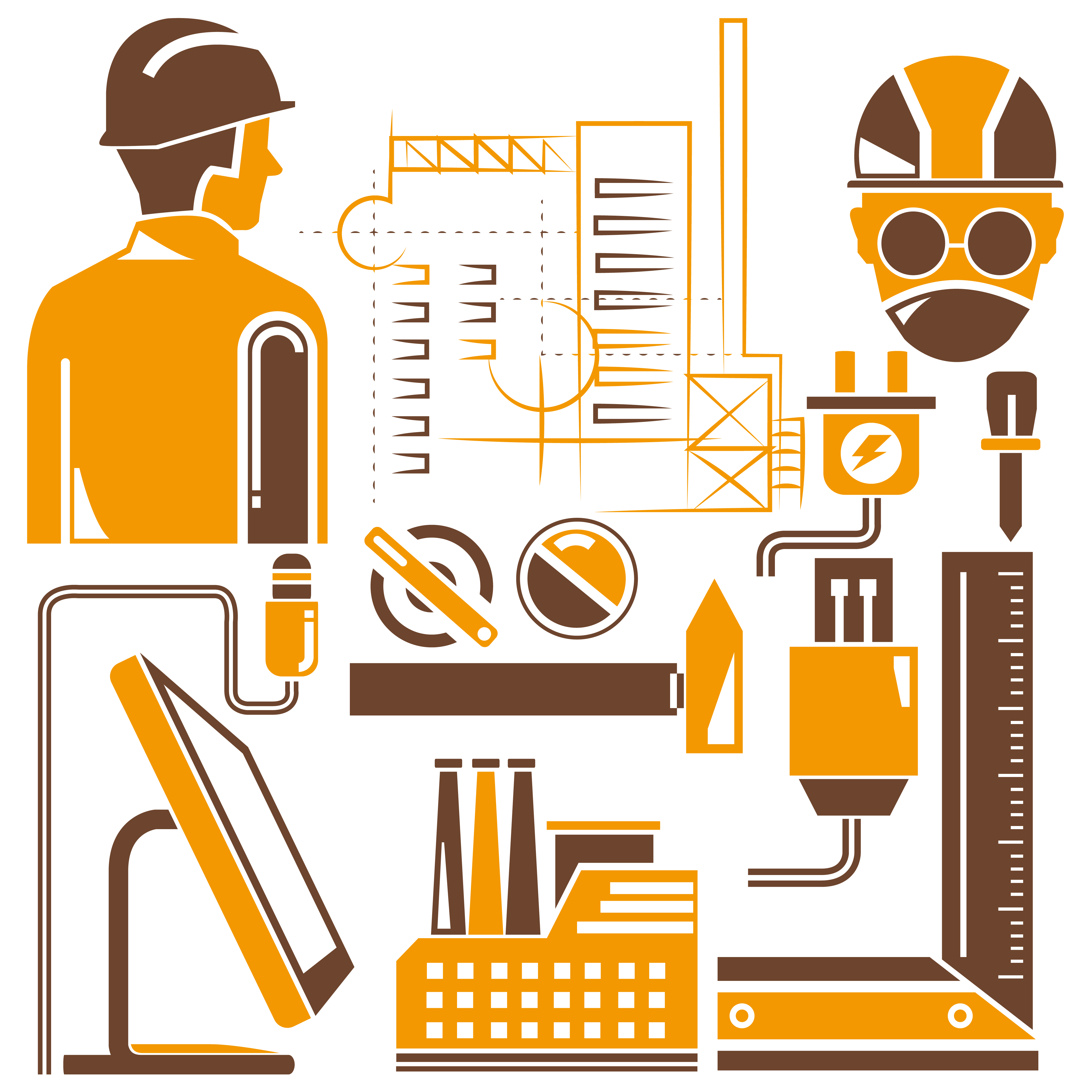 Engineering clipart industrial engineering, Engineering ...