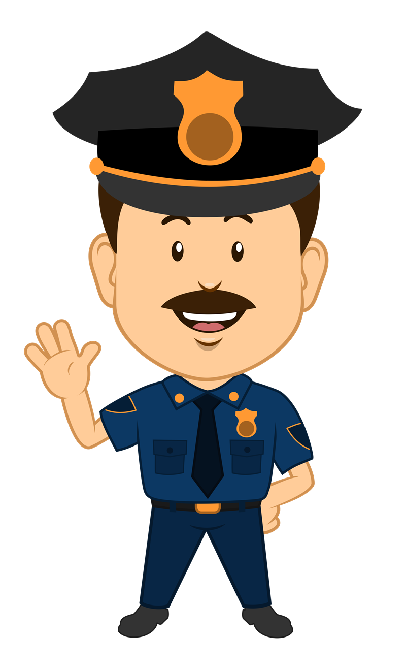 Lady clipart security guard.  collection of police