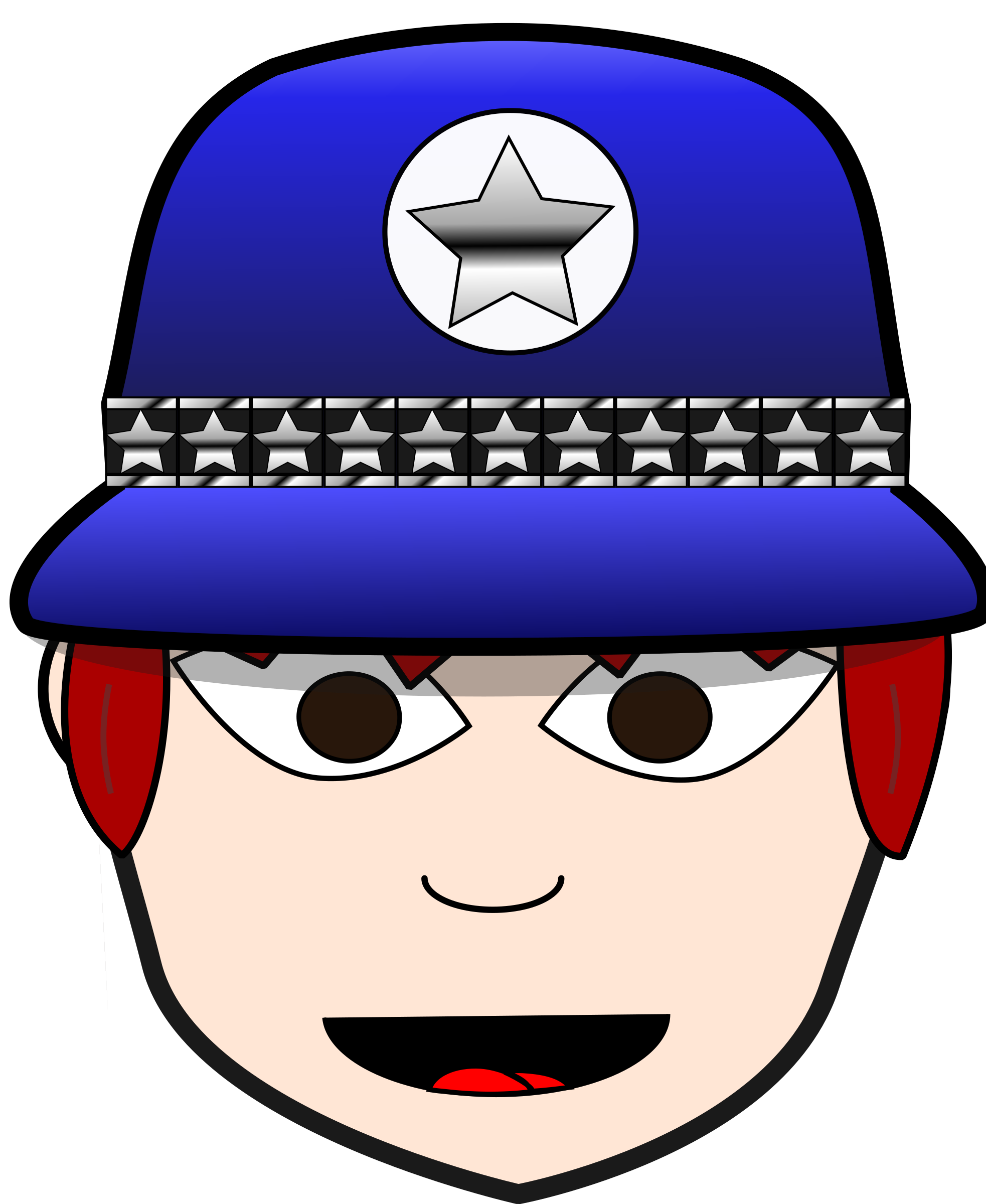 Dress clipart police. Woman big image png