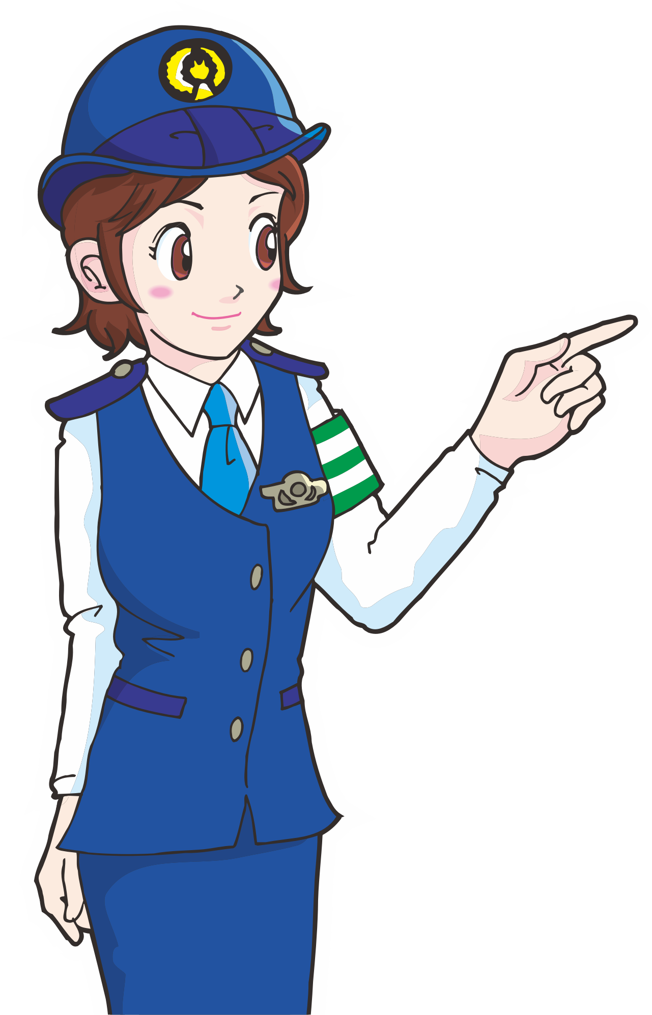 Girls clipart police officer.  collection of png
