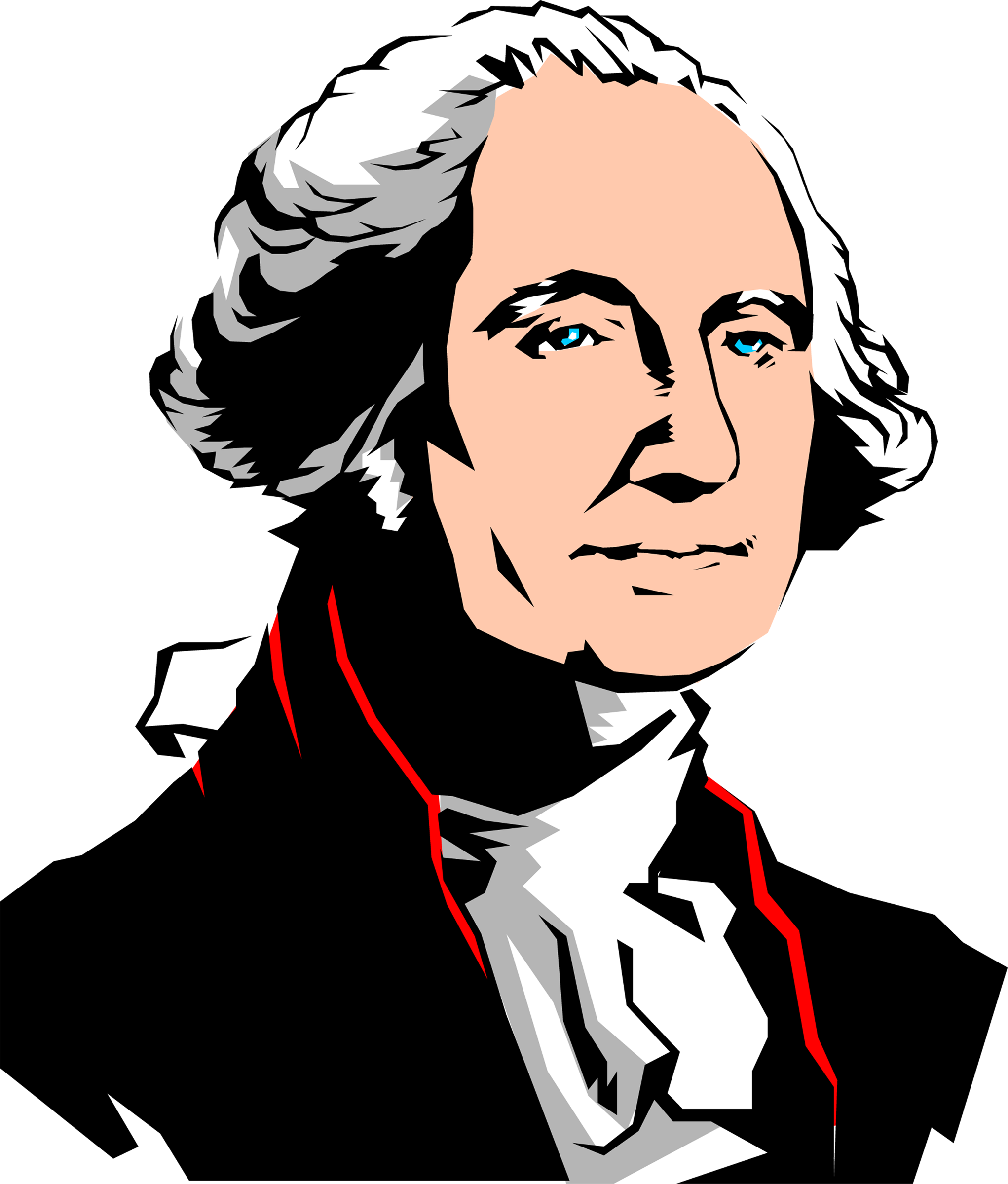 Politics clipart president. Silhouette of at getdrawings