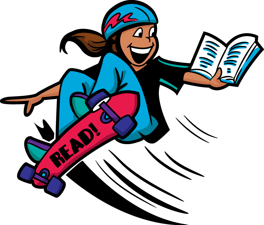 Clipart reading woman. Kids at getdrawings com