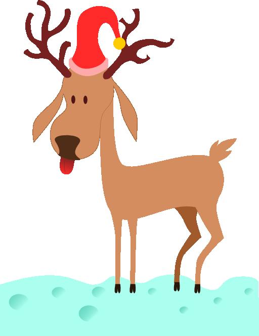 Clipart reindeer silver reindeer. A cartoon i royalty