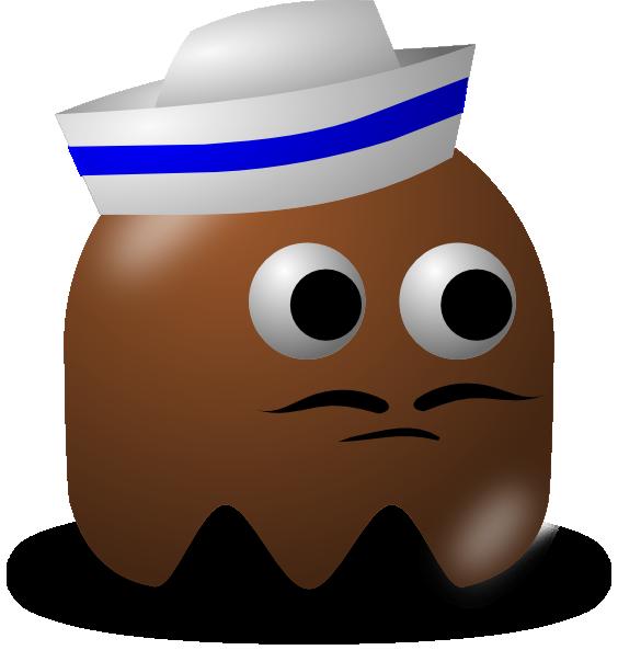 Cartoon sailor clip art. Hats clipart sailor's