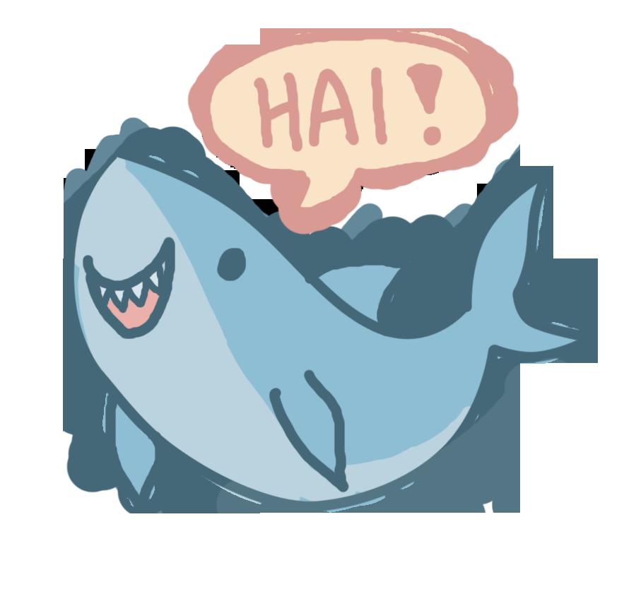 Cute drawing at getdrawings. Clipart shark nice shark