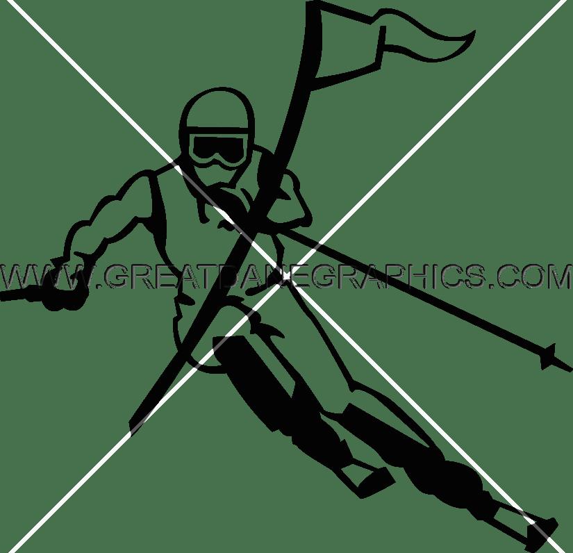 Skier drawing at getdrawings. Skis clipart retro