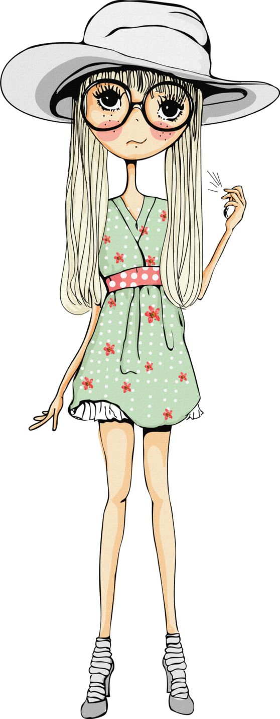 Clipart girl tourism. Doll png cutee by