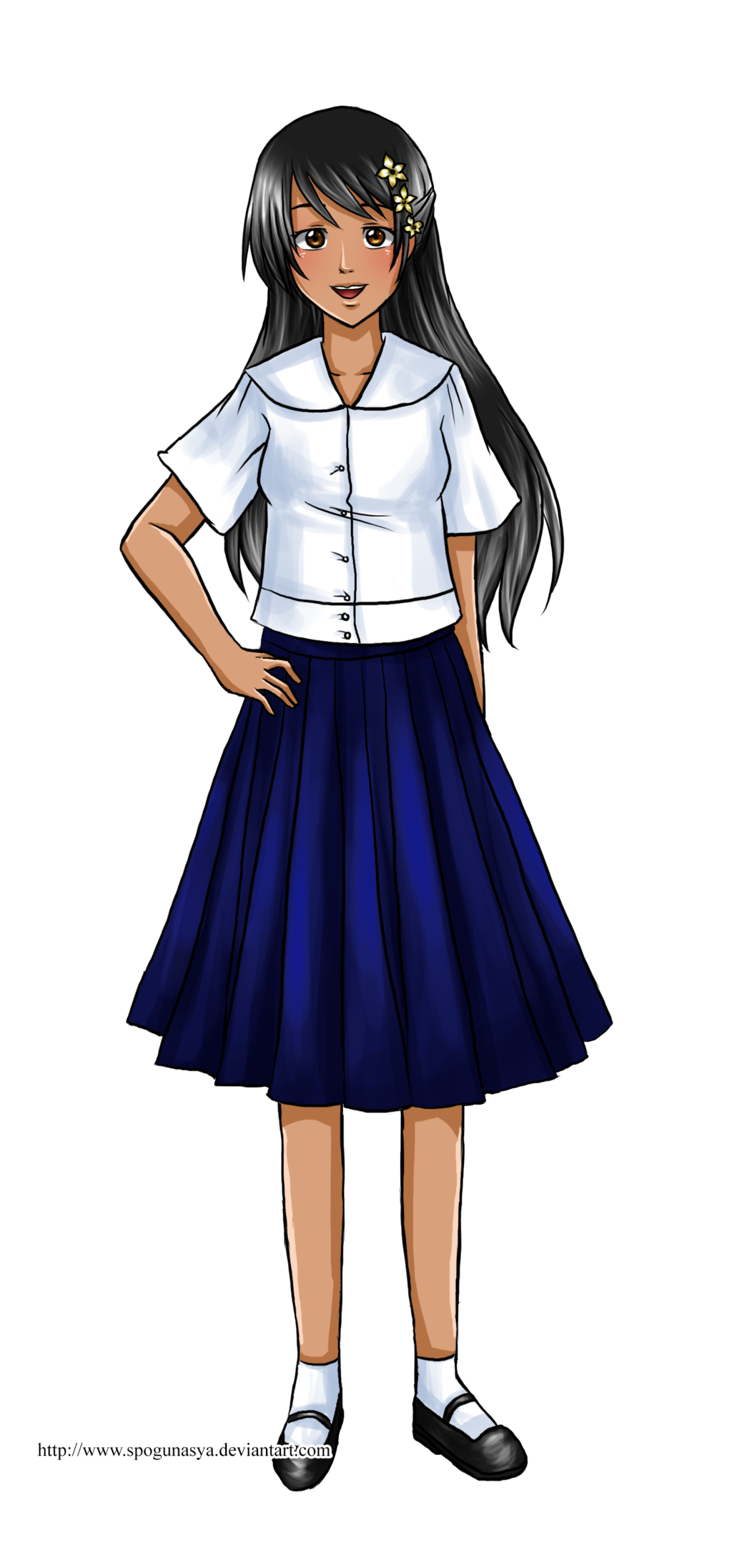 Hetalia philippine school by. Jobs clipart uniform