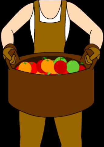 Farmers clipart woman farmer. Farming girl vendor