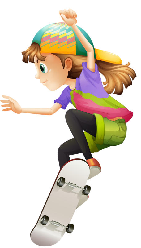 Young clipart scateboard.  png pinterest clip