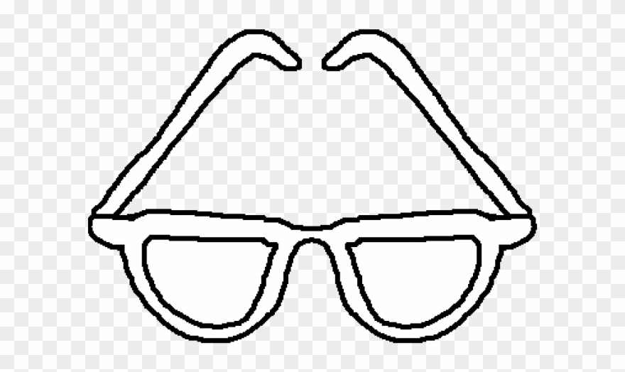 Eyeglasses sun glasses . Clipart sunglasses black and white
