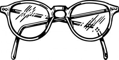 Sunglasses clipart line art. Clip eye glasses free